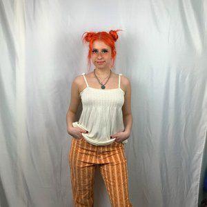 BDG Orange Patterned Cords size 28